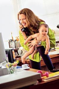 Домохозяйка или молодая мама